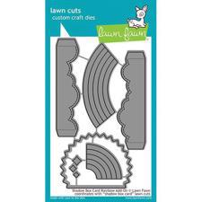 Lawn Cuts - Shadow Box Rainbow Add-On - DIES