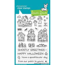 Lawn Fawn Clear Stamp - Spooky Village