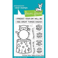 Lawn Fawn Clear Stamp - Fortune Teller Tabby