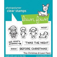 Lawn Fawn Clear Stamp - Tiny Christmas