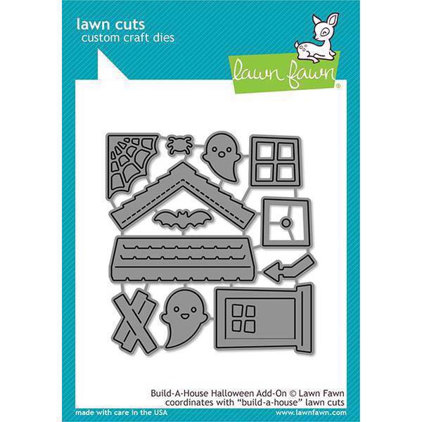Lawn Cuts - Build-a-House Halloween Add-On - DIES
