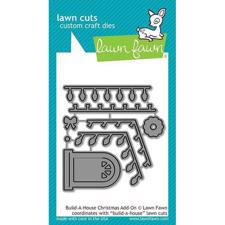 Lawn Cuts - Build-a-House Christmas Add-On - DIES