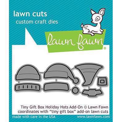 Lawn Cuts - Tiny Gift Box Holiday Hats Add-On - DIES