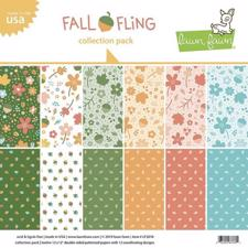 "Lawn Fawn Collection Pack 12x12"" - Fall Fling"