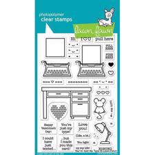 Lawn Fawn Clear Stamp - You're Just My Type