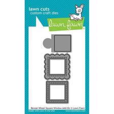 Lawn Cuts - Reveal Wheel Square Window Add-On - DIES