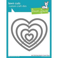 Lawn Cuts - Just Stitching Hearts - DIES