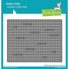 Lawn Cuts - XOXO Backdrop: Landscape - DIES