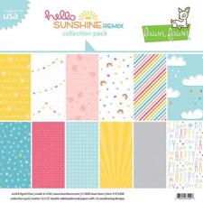 "Lawn Fawn Collection Pack 12x12"" - Hello Sunshine Remix"
