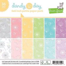 "Lawn Fawn Paper Pad 6x6"" - Dandy Day"
