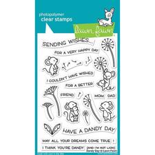 Lawn Fawn Clear Stamp - Dandy Day