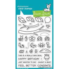 Lawn Fawn Clear Stamp - A Bug Deal