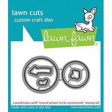 Lawn Cuts - Reveal Wheel Circle Sentiments - DIES
