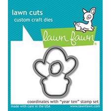 Lawn Cuts - Year Ten (cactus) - DIES