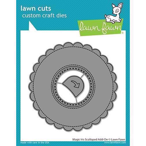 Lawn Cuts - Magic Iris Scalloped Add On - DIES