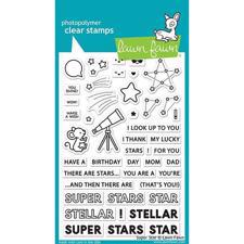 Lawn Fawn Clear Stamp - Superstar