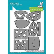 Lawn Cuts - Tiny Gift Box Ladybug Add On - DIES