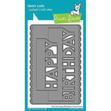 Lawn Cuts - Pop Up Happy Birthday - DIES