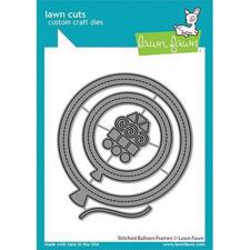 Lawn Cuts - Stitched Balloon Frames - DIES
