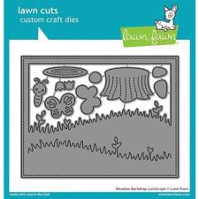 Lawn Cuts - Meadow Backdrop: Landscape - DIES