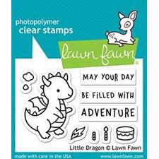 Lawn Fawn Clear Stamp - Little Dragon