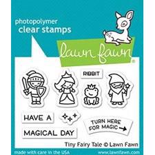 Lawn Fawn Clear Stamp - Tiny Fairy Tale