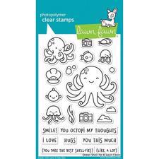 Lawn Fawn Clear Stamp - Ocean Shell-Fie