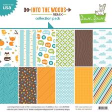 "Lawn Fawn Collection Pack 12x12"" - Into the Woods"