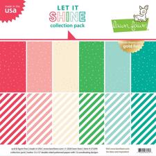 "Lawn Fawn Collection Pack 12x12"" - Let it Shine"