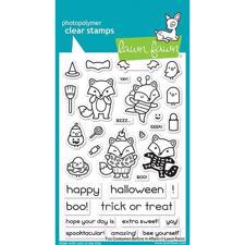 Lawn Fawn Clear Stamp - Fox Costumes Before'n Afters