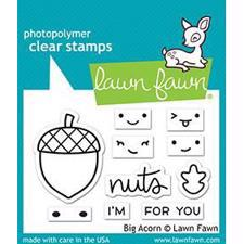Lawn Fawn Clear Stamp - Big Acorn