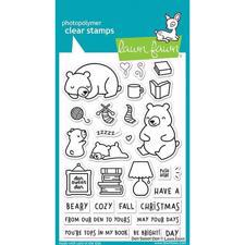 Lawn Fawn Clear Stamp - Den Sweet Den