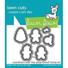Lawn Cuts - Tiny Gingerbread - DIES