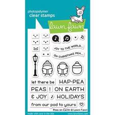Lawn Fawn Clear Stamp - Peas on Earth