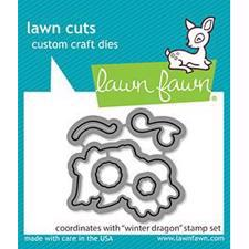 Lawn Cuts - Winter Dragon - DIES