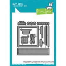 Lawn Cuts - Magic Picture Changer Oven Add-On - DIES