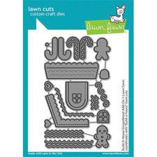 Lawn Cuts - Build a House Gingerbread Add-On - DIES