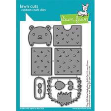 Lawn Cuts - Tiny Gift Box Hedgehog Add-On - DIES