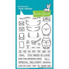 Lawn Fawn Clear Stamp - Special Delivery