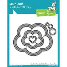 Lawn Cuts - Stitched Thought Bubble Frames - DIES