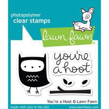 Lawn Fawn Clear Stamp - You're a Hoot