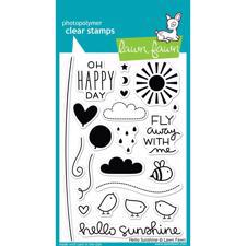 Lawn Fawn Clear Stamp Set - Hello Sunshine
