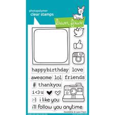 Lawn Fawn Clear Stamp Set - #awesome