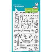Lawn Fawn Clear Stamp Set - Life is Good