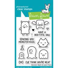Lawn Fawn Clear Stamp - Monster Mash