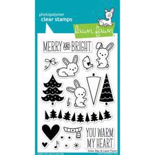 Lawn Fawn Clear Stamp - Snow Day