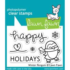 Lawn Fawn Clear Stamp - Winter Penguin