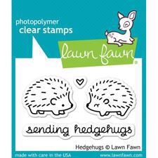 Lawn Fawn Clear Stamp - Hedgehugs