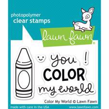 Lawn Fawn Clear Stamp - Color My World