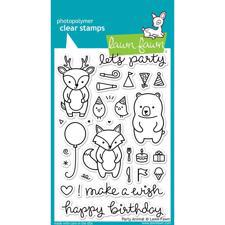 Lawn Fawn Clear Stamps - Party Animals